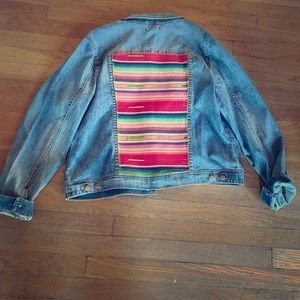 Custom Dear John Denim Jacket